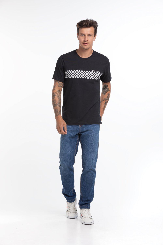 Calça Masculina Jeans Tradicional Escura