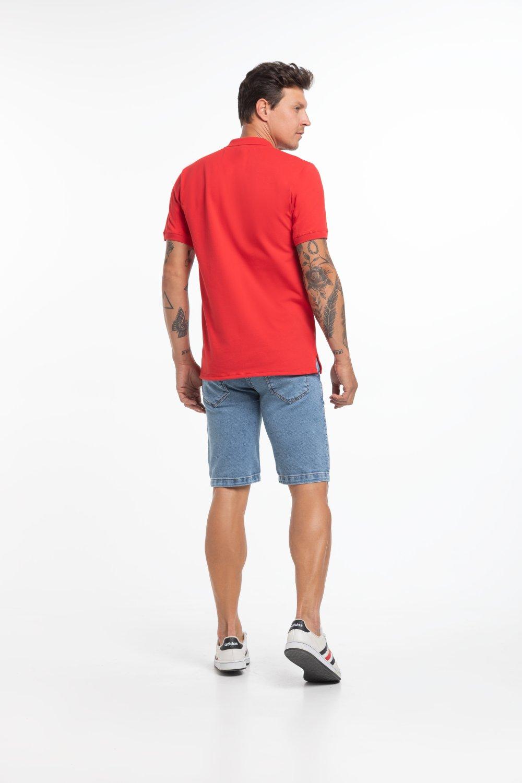 Camisa Polo Masculina Bordada