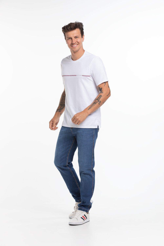 Camiseta Masculina Estampa Frontal