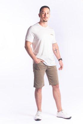 Bermuda Jeans Masculina Terracota