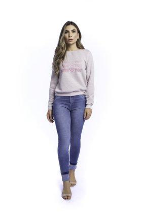 Calça Jeans Feminina Modeladora Cigarrete Tradicional
