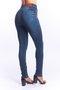 Calça Jeans Feminina Modeladora Cintura Alta com Puídos