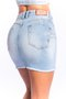 Mini Saia Jeans Feminina Modeladora Clara
